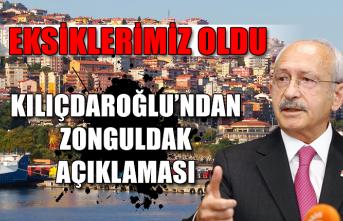 Kılıçdaroğlu'ndan Zonguldak açıklaması