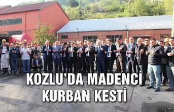 Kozlu'da madenci kurban kesti...