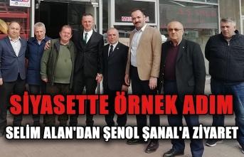 Selim Alan'dan Şenol Şanal'a ziyaret... Siyasette örnek adım...
