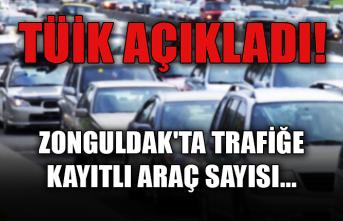 TÜİK açıkladı! Zonguldak'ta trafiğe kayıtlı araç sayısı...