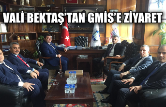 Vali Bektaş'tan GMİS'e ziyaret...