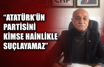 """Yusuf Mar: """"Atatürk'ün partisini kimse hainlikle suçlayamaz"""""""