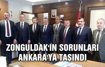 Zonguldak'ın sorunları Ankara'ya taşındı