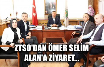 ZTSO'dan Ömer Selim Alan'a ziyaret...