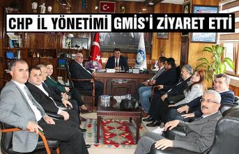 CHP İl Yönetimi, GMİS'i ziyaret etti...