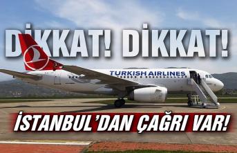 Dikkat! Dikkat! İstanbul'dan çağrı var!