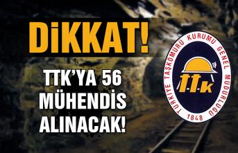 Dikkat… TTK'ya 56 mühendis alınacak!