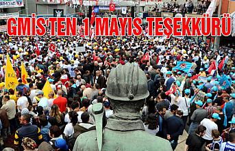 GMİS'ten 1 Mayıs Teşekkürü...