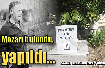 Hamit Aga'nın mezarı bulundu...