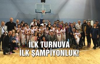İlk turnuva ilk şampiyonluk!
