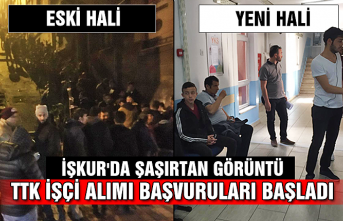 TTK işçi alımı başvuruları başladı... İŞKUR'da şaşırtan görüntü...