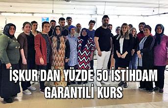 İŞKUR'dan yüzde 50 istihdam garantili kurs
