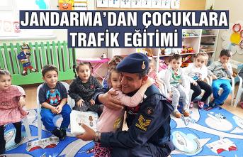 Jandarma'dan çocuklara trafik eğitimi