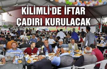 Kilimli'de iftar çadırı kurulacak...