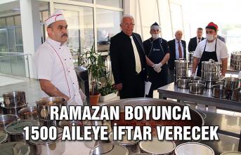 Ramazan boyunca 1500 aileye iftar verecek
