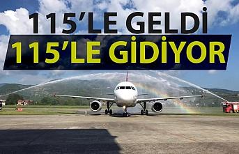 THY'nin Zonguldak uçağı dolu geldi dolu gidiyor