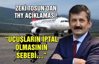 """Zeki Tosun'dan THY açıklaması! """"Uçuşların iptal olmasının sebebi…"""""""