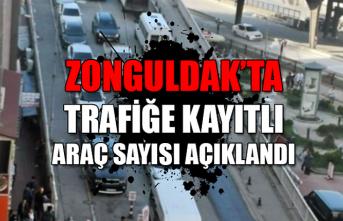 Zonguldak'ta trafiğe kayıtlı araç sayısı açıklandı...
