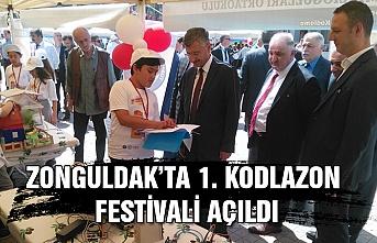 Zonguldak'ta 1.Kodlazon Festivali açıldı