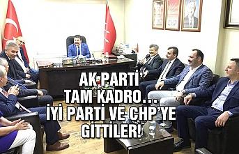 Ak Parti tam kadro… İYİ Parti ve CHP'ye gittiler!