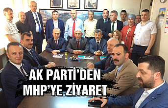 Ak Parti'den MHP'ye ziyaret...