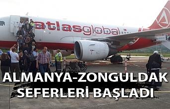Almanya-Zonguldak seferleri başladı