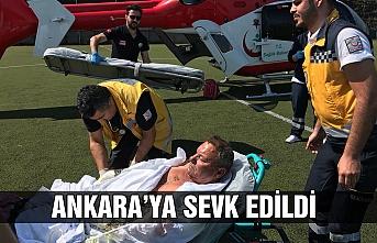 Ankara'ya sevk edildi...