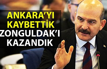 Bakan Soylu: Ankara'yı kaybettik Zonguldak'ı kazandık