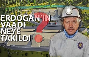 Erdoğan'ın vaadi neye takıldı?