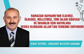 Gökçebey Belediye Başkanı Vedat Öztürk Ramazan Bayramı'nı kutladı