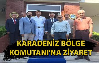 Karadeniz Bölge Komutanı'na ziyaret