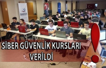 Siber Güvenlik Eğitimleri devam ediyor.