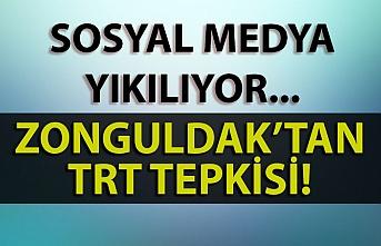 Sosyal medya yıkılıyor… Zonguldak'tan TRT tepkisi!
