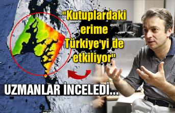 """Uzmanlar inceledi... """"Kutuplardaki erime Türkiye'yi de etkiliyor"""""""
