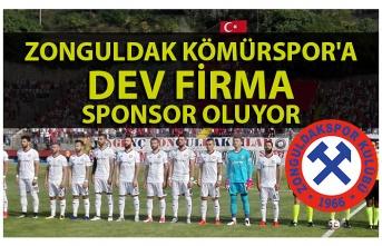 Zonguldak Kömürspor'a dev firma sponsor oluyor