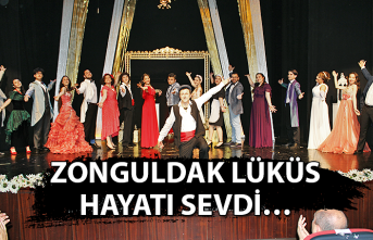 Zonguldak lüküs hayatı sevdi…