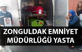 Zonguldak Emniyet Müdürlüğü yasta