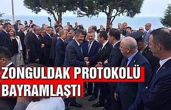 Zonguldak Protokolü bayramlaştı...