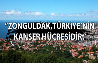 """""""Zonguldak, Türkiye'nin kanserli hücresidir."""""""