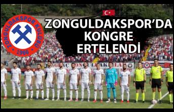 Zonguldakspor'da Kongre Ertelendi