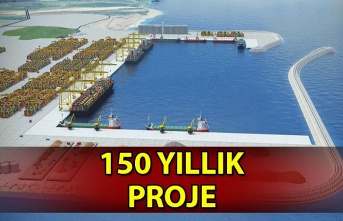 150 yıllık proje Karadeniz'de stratejik konuma sahip olacak...