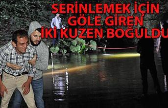 Bartın'da serinlemek için göle giren iki kuzen boğuldu