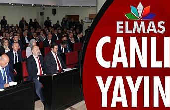 Belediye Meclisi Elmas Tv'den CANLI
