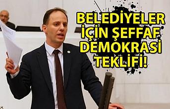 Belediyeler İçin Şeffaf Demokrasi Teklifi!