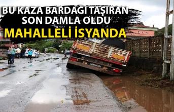 Ereğli'nin Hamzafakıhlı mahallesi sakinleri kazalardan şikayetçi