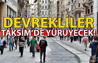 Devrekliler Taksim'de yürüyecek!