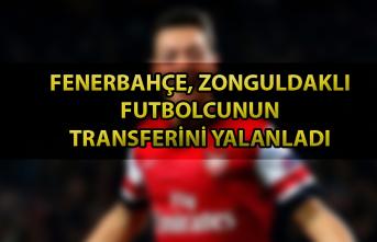 Fenerbahçe, Zonguldaklı futbolcunun transferini yalanladı