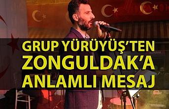 Grup Yürüyüş'ten Zonguldak mesajı