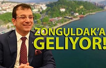 İBB Başkanı Ekrem İmamoğlu Zonguldak'a geliyor