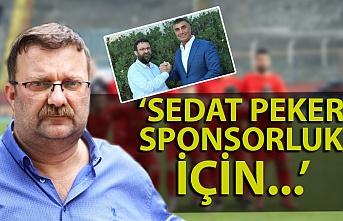 Süleyman Caner: Sedat Peker ile sponsorluk için görüştük